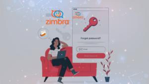 Como alterar senha no e-mail Zimbra